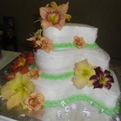 Cake I made for my Grandparents Anniversary