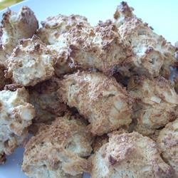 Ritz(R) Cookies Recipe - Ritz(R) crackers are crushed and combined with egg white, sugar, vanilla extract, and pecans to make these quick and delicious cookies.
