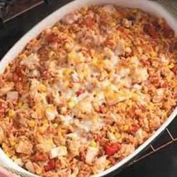 Spanish Rice with Turkey
