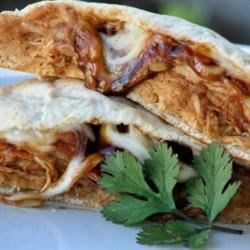 BBQ Chicken Calzones Recipe - If you like BBQ Chicken Pizza, you'll like this easy-to-make calzone version!