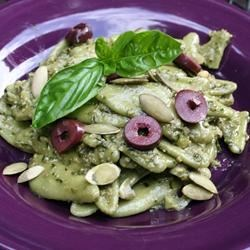 Presto Vegan Pesto Recipe - With all the flavors of a classic pesto sauce, your family won't know, or care, that it's vegan.