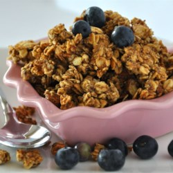 Light Fruit and Nut Granola