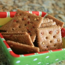 Firecracker Crackers Recipe - These spicy crackers are great with a salad, dips, or chili!