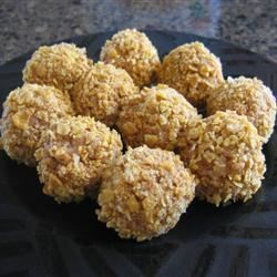 Peanut Butter Nuggets Recipe - Easy no bake, no fuss cookies, they are great for the kids to make by themselves...even the young ones.
