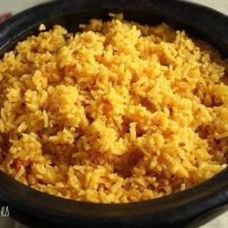 Latin Yellow Rice