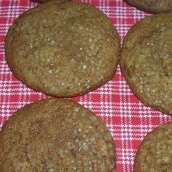 Fresh Ginger Cookies Recipe - Somewhere between a molasses cookie and a gingersnap, these are especially good cookies.