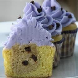 Chocolate Chip Cookie Dough + Cupcake = The BEST Cupcake. Ever. Photos ...