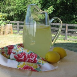 Old-Fashioned Lemonade Recipe - Lemons, sugar, water - the drink to make when life gives you lemons!
