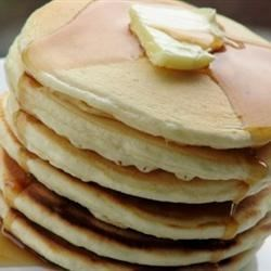 Extra-Yummy Fluffy Pancakes Recipe - Light and fluffy pancakes flavored with cinnamon and vanilla will go perfectly with maple or berry syrup.