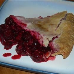 Blackberry Pie III Recipe - This recipe is pretty straightforward: blackberries, flour, sugar and lemon juice are combined and piled into a pastry shell. On go a few pats of butter and the top crust, and 45 minutes later, you 're in pie heaven.