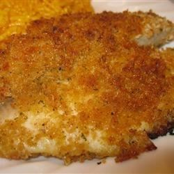 Pan-Fried Mustard Mayonnaise Tilapia Recipe - Tilapia fillets get a spicy coating of mustard-flavored mayonnaise and seasoned panko crumbs for bright flavors and a pan-fried, crispy texture.