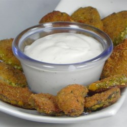 Super Easy and Spicy Fried Pickles Recipe - Super easy, spicy and tasty fried pickles for the pickle-lovers among us!