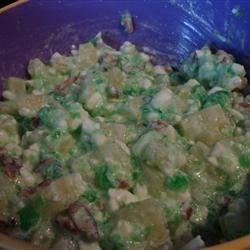 Mamaw's lime jello salad