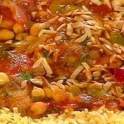 Moroccan Chicken Stew Enhanced