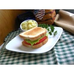 Kansas Tomato Sandwich