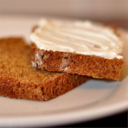 Boston Brown Bread III Recipe - Molasses and brown sugar sweeten this bread made with whole wheat flour and buttermilk.