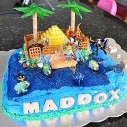 Lego Atlantis Cake