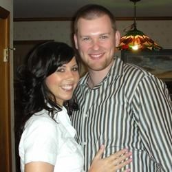 My fiance and I...October 1 2011..<3 <3