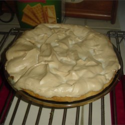 Lemon Meringue Pie II Recipe - This is a real made-from-scratch pie, so get out your double boiler. The lemon filling is smooth and thick with lots of egg yolks, butter and lemon juice. And the meringue has a bit of lemon juice whipped in.
