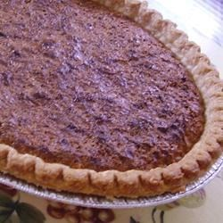 Mock Pecan Pie I Recipe -  This dandy pecan-less pie combines rolled oats and coconut in a sweet, sweet buttery filling. When it 's baked up, you 'd be hard pressed to tell it from the real McCoy. Serve it with whipped cream.
