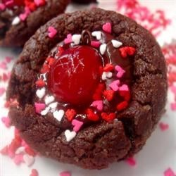 Chocolate Covered Cherry Cookies II