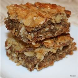 Camping Bars Recipe - These bars with oats, almonds, and coconut are great to take hiking or camping.