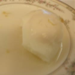 Poached Eggs in Ginger Syrup