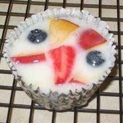 Frozen Fruit & Cream Cups