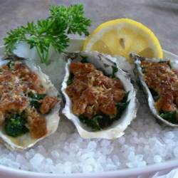 Oysters Rockefeller Recipe - A traditional recipe for oysters Rockefeller.