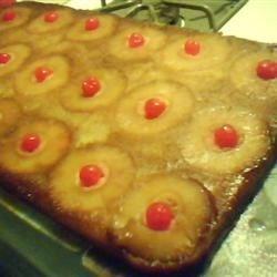 IACJDM Pineapple uPside Down Cake w/ Cherries