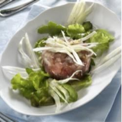 Dukan Cruise Phase Lunch: Curried Tuna Tartar with Salad Recipe ...