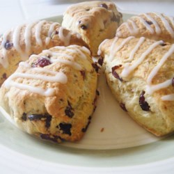 Simple Scones Recipe and Video - Make a holiday breakfast -- or afternoon tea -- really special with these sweet bakery treats.