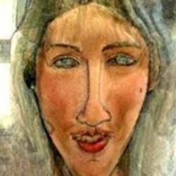 My 'art' self-portrait...
