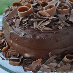 Extreme Chocolate Cake Recipe and Video - A rich moist chocolate cake with a chocolate buttercream icing. This is the best cake in the world!