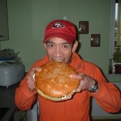 One big burger!