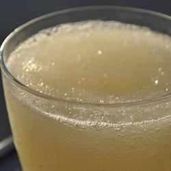Lemon Whiskey Slush Recipe - Slushy, lemony and deceptively strong, this refreshing whiskey cocktail is great for a summer evening.