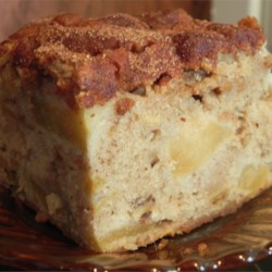 Apple Cake IV Recipe - A great tasting, moist cake and a great way to use up extra apples