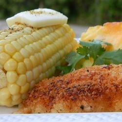 Buttermilk Potato Fried Chicken Recipe - A batter of buttermilk and potato flakes results in a rich variation of fried chicken.