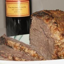 Breaded Rib Roast