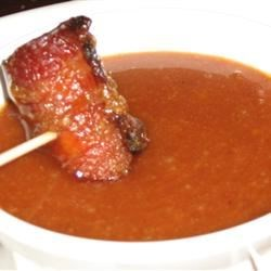 Bacon Wrapped Brown Sugar Smokies Dipping Sauce Recipe - This sweet, creamy sauce is the perfect accompaniment to smokies.