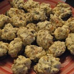 Mouth-Watering Stuffed Mushrooms