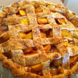 Peach Pie Recipe - Old fashioned peach pie using no eggs, my family's favorite.