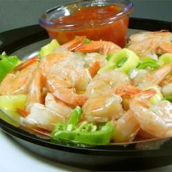 Beer-Boiled Shrimp