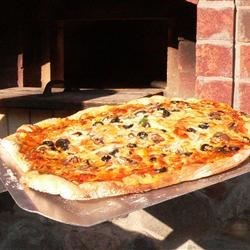 Pizza at its best..right out of the oven