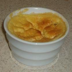 Ham & Cheese Egg Souffle