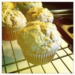 Poppy Seed and Banana Muffins