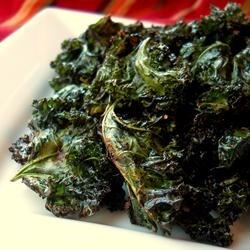 Chili-Roasted Kale Recipe - This recipe was adapted from one of my favorite methods of preparing broccoli and cauliflower - roasting at high heat with the bold flavor of chili powder. The result with kale is a little outrageous - fiery flavor with a unique crispy texture!