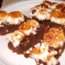 Mocha Mudslide Brownies Recipe - A brownie recipe for adults to enjoy!!!