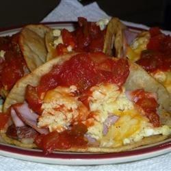 Homemade taco shells