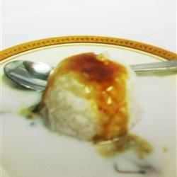 Sago Pudding (Gula Melaka) Recipe - Gula Melaka is the sugar from a coconut tree.  Combined with coconut milk and poured over a sago pearl pudding, make this dessert a true delight. If palm sugar is hard to find, molasses may be substituted.